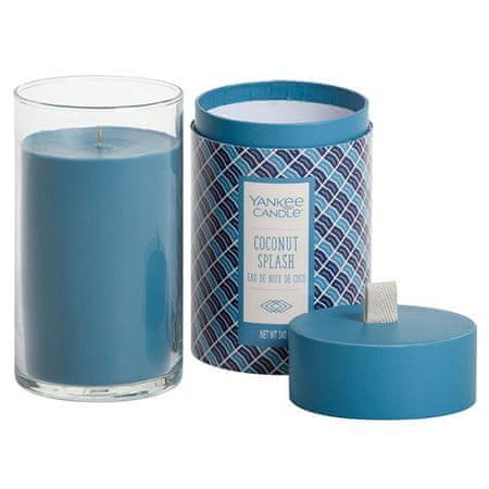 Yankee Candle Sveča v steklenem cilindru , Kokosova osvežitev, 340 g