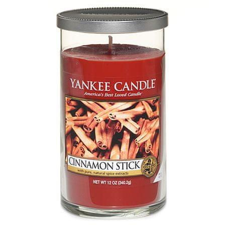 Yankee Candle Świeca w szklanym cylindrze , Laska cynamonu, 340 g