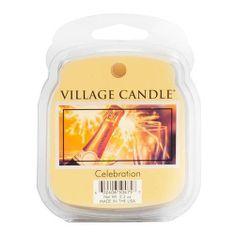 Village Candle Dišeča voska vaška sveča, Praznovanje, 62 g