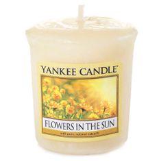 Yankee Candle Svíčka , Květiny na slunci, 49 g