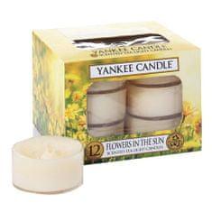 Yankee Candle Svíčky čajové , Květiny na slunci, 12 ks