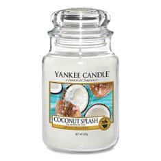 Yankee Candle Gyertya egy üvegedénybe a Yankee gyertyát, Kókusz frissítő, 623 g