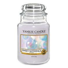 Yankee Candle Gyertya egy üvegedénybe a Yankee gyertyát, Semmi édes, 623 g