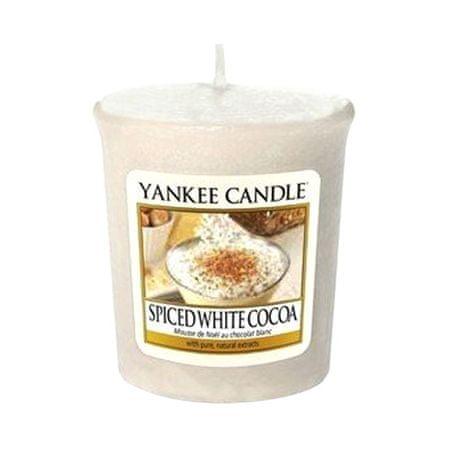 Yankee Candle , Beli kakav z začimbami, 49 g
