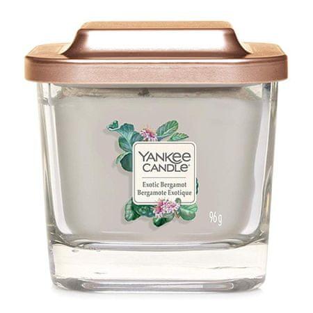 Yankee Candle Gyertya egy üvegváza Yankee gyertya, Egzotikus bergamott, 96 g