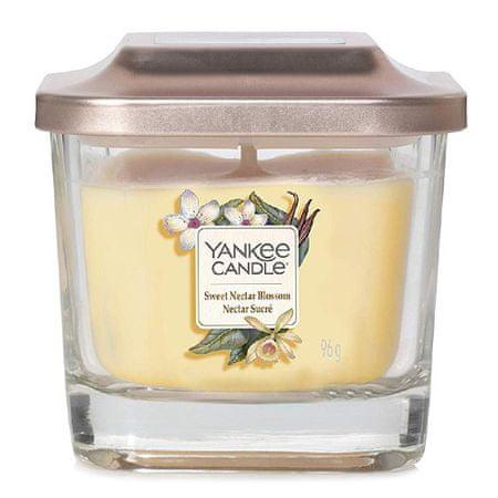 Yankee Candle Świeca w szklanym wazonie Świeca Yankee, Słodki nektar kwiatowy, 96 g