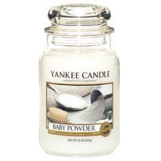 Yankee Candle gyertya üvegedénybe, Babapor, 623 g