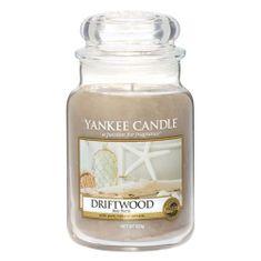 Yankee Candle Gyertya egy üvegedénybe a Yankee gyertyát, Driftwood, 623 g
