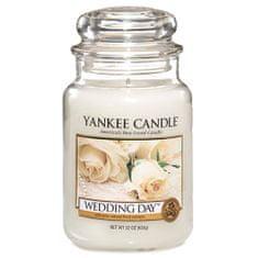 Yankee Candle gyertya üvegedénybe, Esküvő napján, 623 g