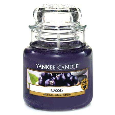 Yankee Candle Świeca w szklanym słoju Świeca Yankee, Czarna porzeczka, 104 g