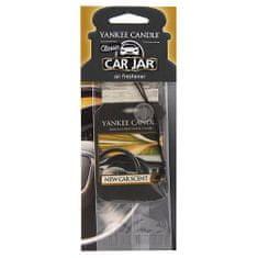 Yankee Candle Osvěžovač do auta , Vůně nového auta, 1x papírová visačka