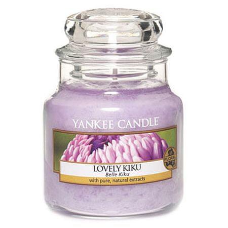Yankee Candle Świeca w szklanym słoju Świeca Yankee, Kwiat szczęścia, 104 g