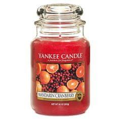 Yankee Candle Gyertya egy üvegedénybe a Yankee gyertyát, Mandarin áfonyával, 623 g