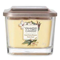 Yankee Candle Świeca w szklanym wazonie Świeca Yankee, Słodki nektar kwiatowy, 347 g