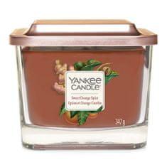 Yankee Candle Gyertya egy üvegváza Yankee gyertya, Édes narancs és fűszerek, 347 g