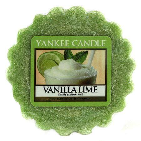 Yankee Candle Świeca Yankee, Wanilia z limonkami, 22 g