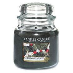 Yankee Candle Gyertya egy üvegedénybe a Yankee gyertyát, Karácsonyi koszorú, 410 g