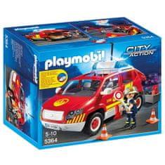 Playmobil Auto velitele hasičů , Hasiči