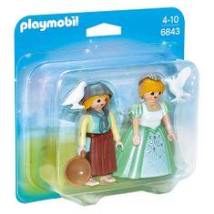 Playmobil Duo Pack Princezna s děvečkou , Zámek, 12 dílků