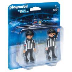 Playmobil A Duo Pack Hockey játékvezető , Sport és rendezvények, 11 darab