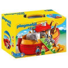 Playmobil Arka Noego, Przenośna Arka Noego 1.2.3