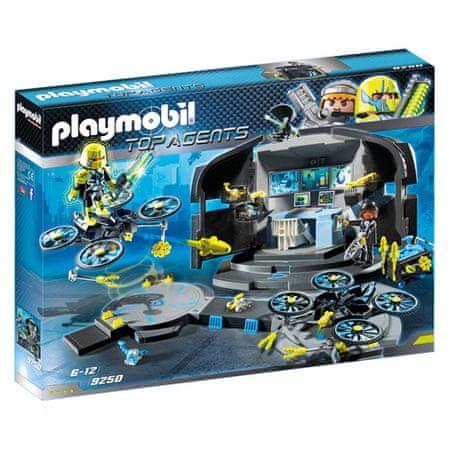 Playmobil Dr. Control Center Dronea Playmobil, TOP agenci, 100 sztuk