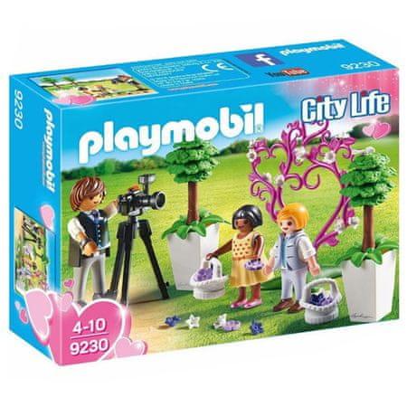 Playmobil Esküvői fotós , ENT M NK BRT STAD JSY SS HM