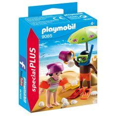 Playmobil Děti na pláži , Prázdniny, 25 dílků