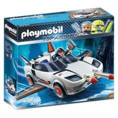 Playmobil Agent P.´s Spy Racer , TOP agenti, 50 dílků