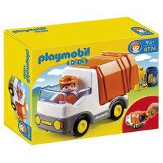 Playmobil szemeteskocsi, Dömper autó