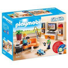 Playmobil Obývacia izba , Moderný dom, 25 dielikov
