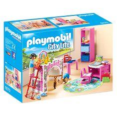 Playmobil Dětský pokoj , Moderní dům, 30 dílků
