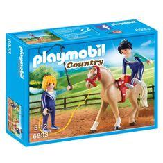 Playmobil Drezúra , Jezdecký dvůr, 10 dílků