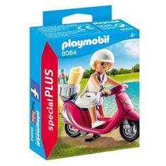 Playmobil Dívka na pláži se skútrem , Prázdniny, 10 dílků