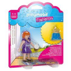 Playmobil Dívka v šatech do města , CITY FASHION GIRL 6885