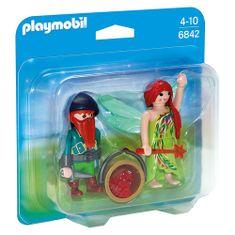 Playmobil Duo Pack Víla s trpaslíkem , Víly a jednorožci, 12 dílků