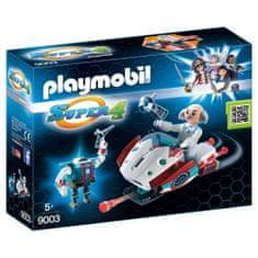 Playmobil Skyjet s Dr. X a Robotom , Super 4, 32 dielikov