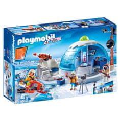Playmobil Mieszkania wyprawy polarnej , Wyprawa polarna, 85 sztuk