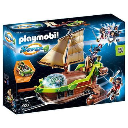 Playmobil Kalóz kaméleon és Ruby , Super 4, 50 darab