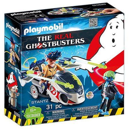Playmobil Stantz és Skybike , Ghostbusters, 31 darab