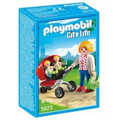 Playmobil Wózek dla bliźniaków , Przedszkole