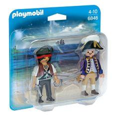 Playmobil Duo Pack Pirát a voják , Piráti, 10 dílků