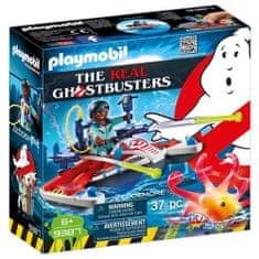 Playmobil Zeddemore és a sugárhajtású sí, Ghostbusters, 37 darab