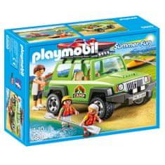 Playmobil Auto správca kempu , Prázdniny, 15 dielikov