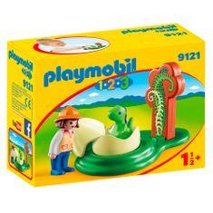Playmobil Dinosauří vejce , 1.2.3, 6 dílků