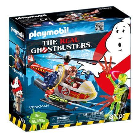 Playmobil Venkman s helikopterjem , Ghostbusters, 37 kosov