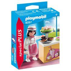 Playmobil Cukrářka s kuchyňkou , Život ve městě, 15 dílků