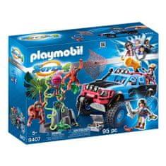 Playmobil Monster truck s Alexom a Rock Brock , Super 4, 95 dielikov