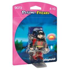 Playmobil Bojovnica s mečmi Playmobil, Rytieri a barbari, 5 dielikov