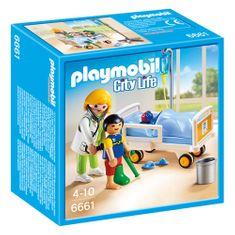 Playmobil Dětská lékařka s pacientem , Život ve městě, 26 dílků